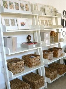shelves-with-baskets... want to do this in the office