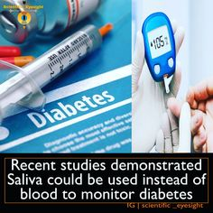 The test has been developed as an alternative to the current prevalent practice of monitoring blood glucose, which can be invasive, painful and costly.  Lab tests of the saliva process had an accuracy rate of 95.2%. The research shows promising results for monitoring diabetes, which affects an estimated 425 million people worldwide – around half of them undiagnosed.