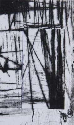 Original ABSTRACT Intaglio Etching