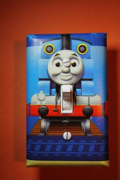 Thomas The Tank Engine Train Light Switch Plate By Comicrecycled