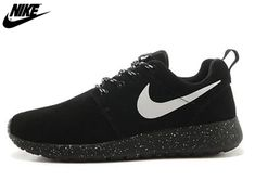 949240bca386 2013 Mens Nike Roshe One Low Anti Fur Waterproof Running Shoes Black White