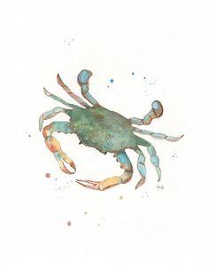 Ocean Life Package/ 5 Watercolor Prints for 90.00 by kellybermudez