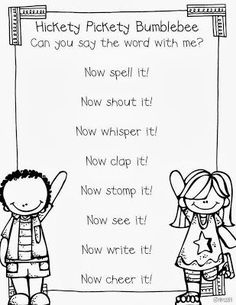 Miss Kindergarten: Sight Word Chant. Going to use this chant with the words on our letter wall. Teaching Sight Words, Sight Word Practice, Sight Word Song, Sight Word Wall, Fry Sight Words, Sight Word Centers, Spelling Practice, Teaching Letters, Sight Word Games