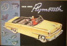 1953 Plymouth Cranbrook Cambridge Dealer Sales Brochure
