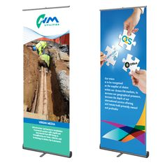 Pacific Roller Banner Pop Up Indoor Stands Banners Business