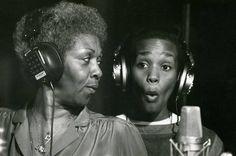 1979: Whitney spent her teen years accompanying mum Cissy on nightclub tour