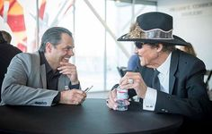 Sharing a memorable moment with the king of motorsports Richard Petty. Had a chance to interview him last night at the Petersen Automotive Museum where he was there to accept the Robert E. Petersen Lifetime Achievement Award.  From RobbReport.com staff writer @robbreportviju. . . . #richardpetty #richardpettymotorsports #pettygarage #robbreport #petersenmuseum  via ROBB REPORT MAGAZINE OFFICIAL INSTAGRAM - Luxury  Lifestyle  Style  Travel  Tech  Gadgets  Jewelry  Cars  Aviation…