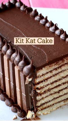 Chocolate Desserts, Fun Desserts, Delicious Desserts, Dessert Recipes, Yummy Food, Fun Baking Recipes, Sweet Recipes, Cupcakes, Cupcake Cakes