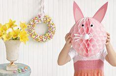La lanterne lapin de pâques :)