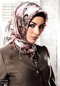 armine turkish hijab love the suble pattern and shade of rose