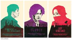Chan-woon Parks Vengeance Trilogy [Sympathy for Mr. Vengeance, Oldboy, Sympathy for Lady Vengeance]