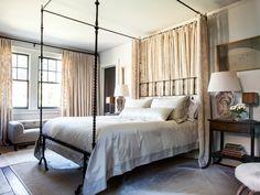 Винтажная спальня   #винтаж #светлый #спальня