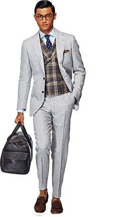Suit_Light_Grey_Plain_York_P3843