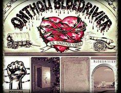 """Die Boervolk: """"Onthou Bloedrivier!"""" ~  (Via facebook ~ Hennie van Rensburg) South Africa, Van, Colour, Facebook, History, Cool Stuff, Country, Africans, Historia"""
