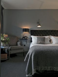 This rambling old property is furnished with immensely pleasing flair – a blend of tradition and contemporary chic. There are open fires, rugs on flagstone and wood floors and retro school seats as dining chairs. Walls, mainly clad in Cotswold greys and greens, are lined with an eclectic mix of hunting scenes, family portraits of local landowners and striking modern art including an audacious pop art rendition of Kate Moss by Sebastian Krüger. Open Fires, Flagstone, Contemporary, Modern Art, Family Portraits, Pop Art, Dining Chairs, England, Flooring