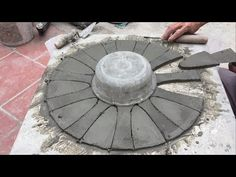 Creative Ideas From Cement How To Make Flower Pots For Home-Garden Decoration - YouTube