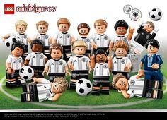Nationalmannschaftsmarketing und kein Ende: Jetzt bringt auch Lego die DFB-Spieler als Mini-Spielfiguren auf den Markt. Genauer hätte man die Mannschaft nicht treffen können.
