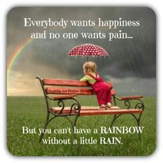 Cute rainbow picture!