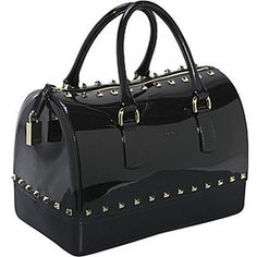 Furla Candy Small Bauletto - Rubber - Handbags.com