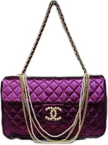 Shades of Purple - Chanel Chanel Couture, Chanel Handbags, Purses And Handbags, Chanel Bags, Shades Of Purple, Deep Purple, Coco Chanel, Fashion Bags, Fashion Accessories