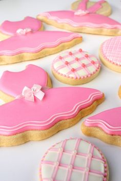 Pink Girly Cookies