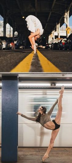 Beautiful Ballet Portrait Of Performers Claiming The Streets Of NYC Ballet is an intimately physical art that has been merged with the beauty of music, photography and dance, captured by Puerto Rico... #dancephotography