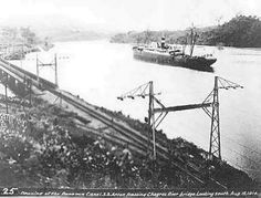 SS Ancon. The first ship to transit the Panama Canal, ocean to ocean. ✨ #TheCrazyCities #crazyPanama