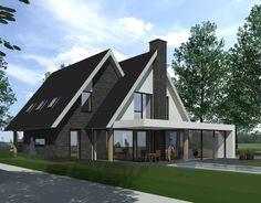 House Roof, Facade House, My House, Thai House, Cabana, Building A New Home, Architect House, House Goals, My Dream Home