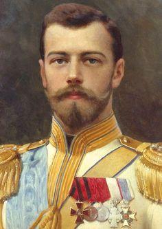 Tsar Nicholas Romanov in unifor, 1917. Илья ГАЛКИН (1860-1915). Николай II. 1898.