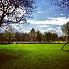 Victoria Park in Bow, Greater London