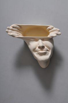 Exklusive Porzellanskulpturen von Johnson Tsang_Open Mind Serie