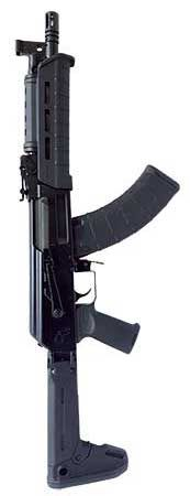 The RAS47 SBR and the C39V2 are side-folding semi-auto rifles from Century Arms.