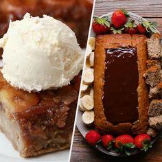11 Banana Bread Recipes You Must Try - Pats board - Yorgo Chocolate Swirl, Chocolate Banana Bread, Cake Chocolate, Chocolate Fondue, Cheesecakes, Delicious Desserts, Dessert Recipes, Blueberry Banana Bread, Chocolate Cheesecake Recipes