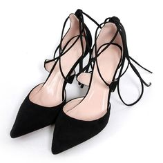 Versailles Lace-Up Heels – Gearantee