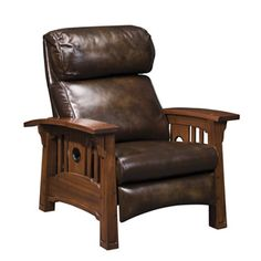 Tsuba Bustle Back Recliner by Stickly... part of their Pasadena Bungalow Collection.