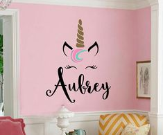 This decal measures about 22 tall x 20 wide. Sizes may vary depending on monogram. Please specify your color choices for the unicorn in the private note section at checkout! * Easy to apply and easy to remove * Removable but not reusable! * High quality, interior grade matte vinyl