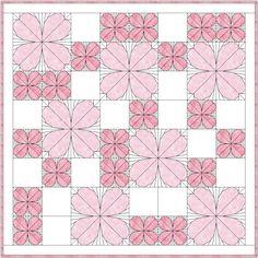 Dogwood Quilt Pattern | Quilting: Art Quilts | Pinterest | Patterns : dogwood quilt pattern - Adamdwight.com