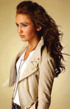 Miley Cyrus when young and sweet....I miss her!