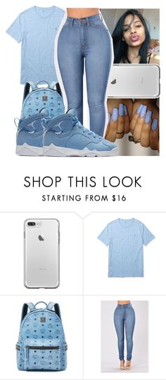 """BTS Set❄️"" by theyknowniyaaa ❤ liked on Polyvore featuring Ralph Lauren, MCM and NIKE"