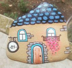 #house #sweethome #sweethomesweet #paintingstones #paintedrocks #taş #tasboyama…