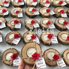 Billet Concept, Billet Candlestick, Billet Tray, Billet – Edelfu - New Deko Sites Wedding Gifts For Guests, Wedding Favours, Wedding Centerpieces, Wedding Table, Diy Wedding, Rustic Wedding, Wedding Decorations, Diy Crafts For Kids, Favors