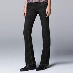 4450378a3b5fa Simply Vera Vera Wang Modern Fit Bootcut Jeans - Women s Simply Vera