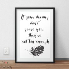 if your dreams dont scare you. darmowe grafiki do pobrania i wydrukowania. Kili, Dreaming Of You, Geek Stuff, Printables, Graphics, Dreams, Google, Blog, Inspiration