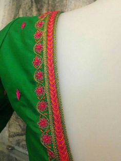 Hand Work Blouse Design, Simple Blouse Designs, Silk Saree Blouse Designs, Bridal Blouse Designs, Blouse Neck Designs, Maggam Work Designs, Designer Blouse Patterns, Embroidery Designs, Needlepoint