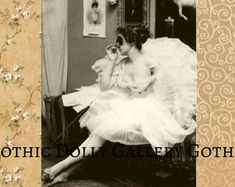 Whimsical vintage style Etsy shop Cover Photo plus matching Shop Icon - new size, new style. With lovely vintage photograph and design. Vintage Looks, Vintage Style, Vintage Fashion, Vintage Ballet, Shop Icon, Ballet Dancers, Vintage Photographs, Cover Photos, Etsy Vintage