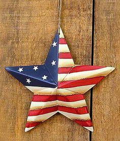 c21509c6cace American Flag Barn Star Ornament - Wall Decor - Home Decor