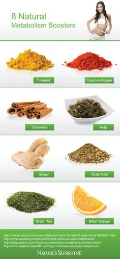 8 Natural Metabolism Boosters