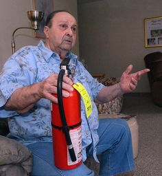 Once a fireman, always a fireman - The Bulletin profiles Ronald LePage, 81, a Korean War veteran and retired firefighter, talks about how he used his personal fire extinguisher to help put out a fatal fire Feb. 16 on his floor at the Blackstone Apartments in Norwich. Read more: http://www.norwichbulletin.com/article/20160403/news/160409873 #CT #NorwichCT #Connecticut #Ctfire #Firefighter #Retired #Fireman #Fire