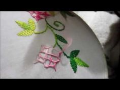 Hand Embroidery | New Look Gujrati Design - YouTube