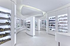 NYC COSMETICS STORE by Alla Akimova, via Behance